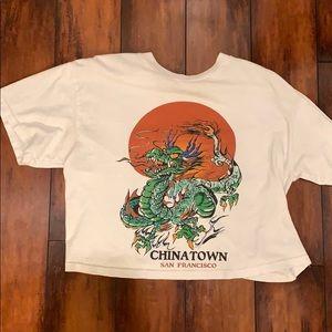 Brandy Melville China Town T-shirt